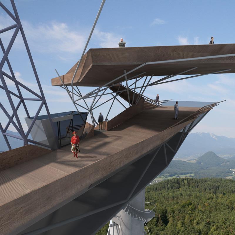 Architektur Marion Wicher_yes-architecture_Klagenfurt_WB Pyramidenkogel_05_WBPyr07_800x800