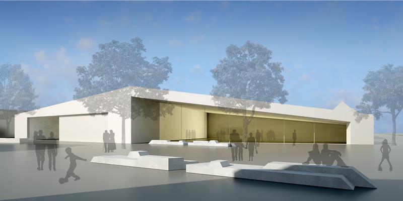 Architektur Marion Wicher_yes-architecture_Gumpoldskirchen_WB Gemeindezentrum Gumpoldskirchen_02_cam5_11_800x400