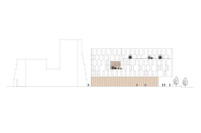 Architektur-Marion-Wicher_yes-architecture_Pforzheim_WB-Neubau-AOK-Pforzheim_06_Ansicht-Nord_800x530