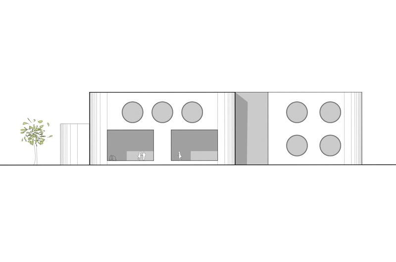 Architektur Marion Wicher_yes-architecture_Dornbirn_WB Kindergarten Marktstraße_05_Ansicht_800x530