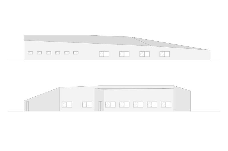 Architektur Marion Wicher_yes-architecture_Trofaiach_Postverteilerzentrum _04_Ansicht_800x370