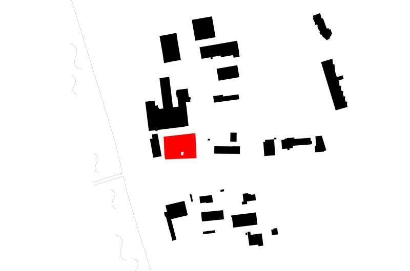 Architektur Marion Wicher_yes-architecture_Vaduz_WB Bebauung Wuhrstrasse_03_Schwarzplan_800x530